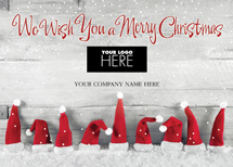 Hat's Off Christmas Logo Cards